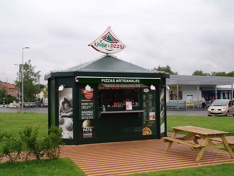 le kiosque pizzas auby pizza emporter commande pizzas franchise pizza. Black Bedroom Furniture Sets. Home Design Ideas
