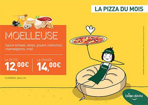 Le kiosque à pizzas de RUMILLY - la pizza du mois