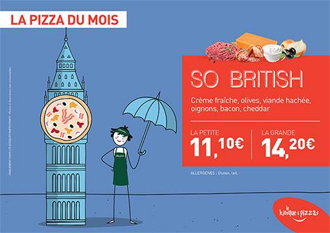 Le kiosque à pizzas de  LE MEE SUR SEINE - la pizza du mois