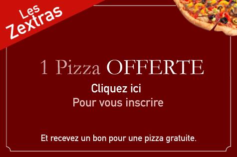 Les Zextras du kiosque à pizzas