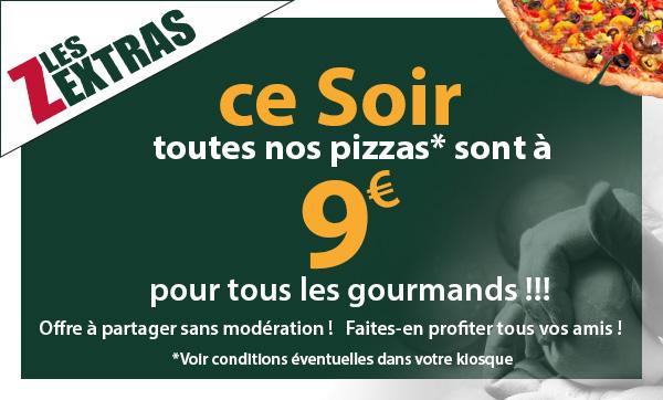 Le kiosque à pizzas de  ST BONNET de  MURE - coupon promotionnel